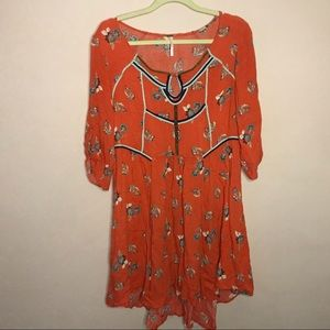 Fre people floral dress